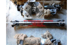 Вал карданный основной без подвесного L-1280, d-180, 4отв. SH фото Тамбов