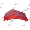Брызговик передней оси правый H2 красный HOWO (ХОВО) WG1642230004 фото 3 Тамбов